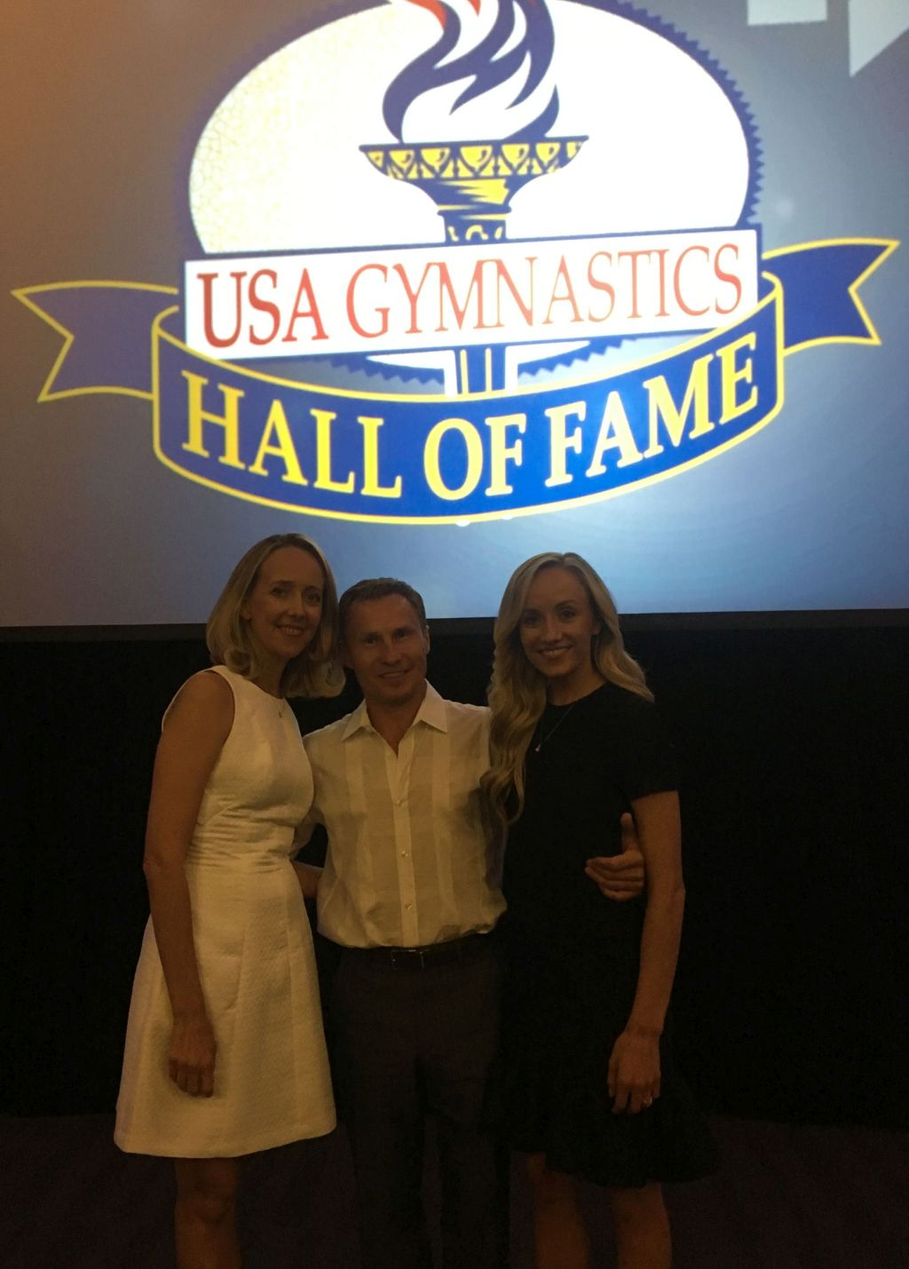 Congratulations Valeri Liukin on your induction into the USA Gymnastics Hall of Fame!! Class of 2016. Texas is very proud and honored.